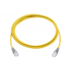 R&M Cat 6 U/UTP 4P LSZH 3 Meter Yellow Patch Cord