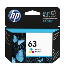 HP 63 Tri-color Original Ink Cartridge