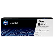 HP 36A Black Original LaserJet Toner