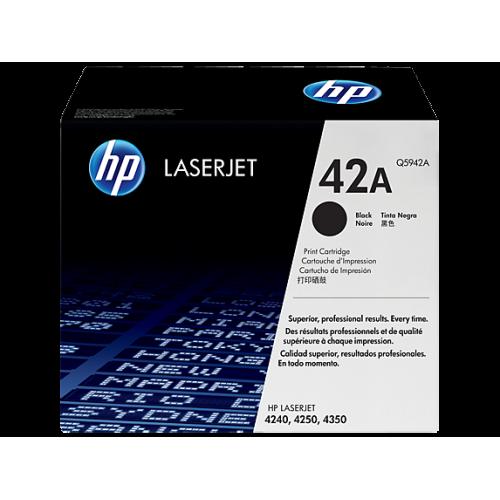 HP 42A Black Original LaserJet Toner