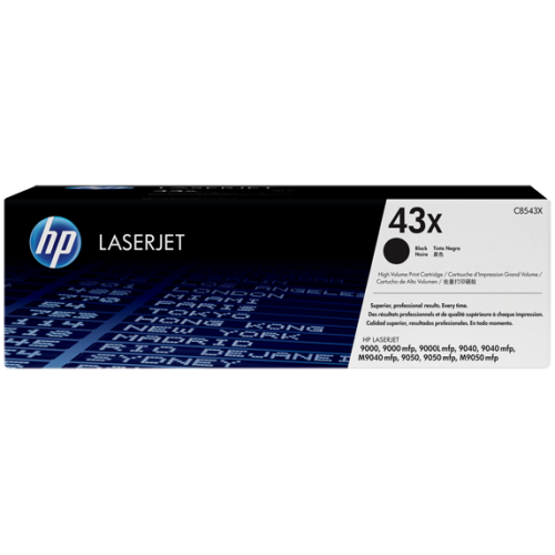 HP 43X High Yield Black Original LaserJet Toner