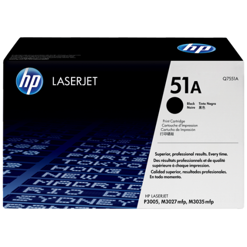 HP 51A Black Original LaserJet Toner