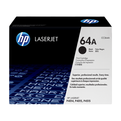 HP 64A Black Original LaserJet Toner