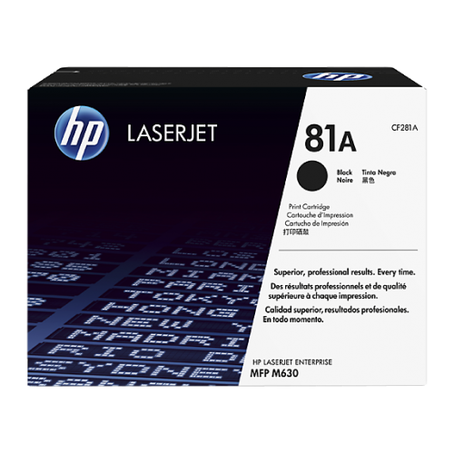 HP 81A Black Original LaserJet Toner