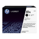 HP 81A Black Original LaserJet Toner (For LJ M605N, DN)