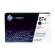 HP LaserJet 506dn Printer Toner 87A Black