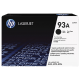 HP 93A Black Original LaserJet Toner (for LJ M706N, 435NW)