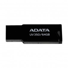 Adata UV350 64GB USB 3.2 Metal Body Pen Drive (Black)
