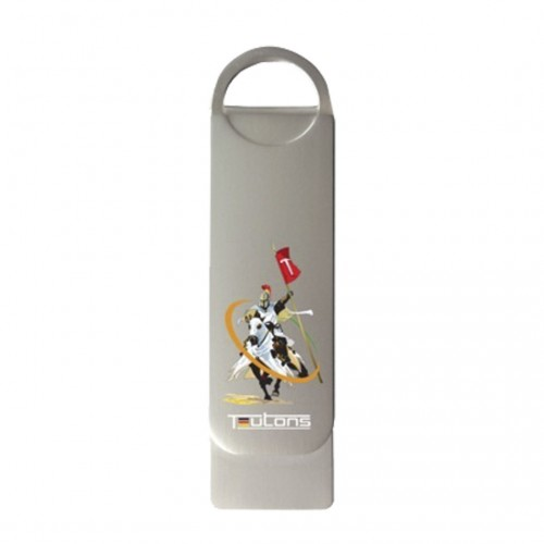 TEUTONS Metallic Knight 64GB USB 3.1 Gen-1 Flash Drive
