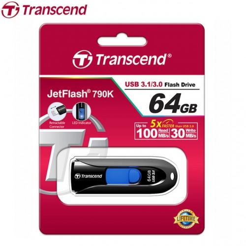 Transcend TS64GJK790K 64GB 790 USB 3.1 Pen Drive