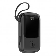 Baseus Qpow Digital Display 3A 15w 10000mAh Power Bank with Type-C Cable