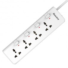 Huntkey PZA402 4 AC Ports with 4 Switch Surge Protection PowerStrip