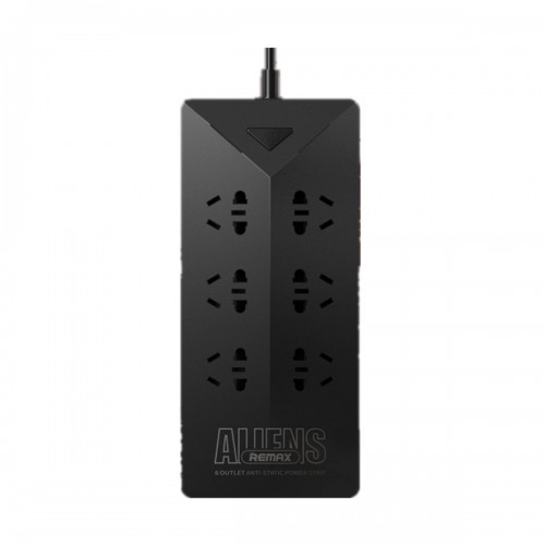 REMAX RU-S4 Aliens 6 Ports 5 USB Black Charger