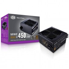Cooler Master MWE 450W V2 Non-Modular 80 Plus Bronze Power Supply