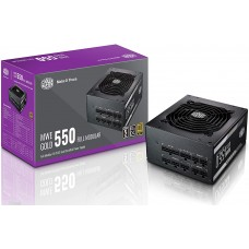 Cooler Master MWE 550 550W Full Modular 80 Plus Gold Certified Power Supply