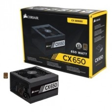 Corsair CX650 650W 80 Plus Bronze Certified Non-Modular ATX Power Supply