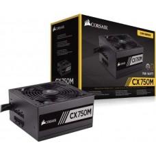 CORSAIR CX750M 750 Watt 80 PLUS Bronze Certified Modular ATX Power Supply