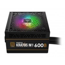 Gamdias Kratos M1-600B 600 Watt 80+ Bronze Addressable RGB Power Supply