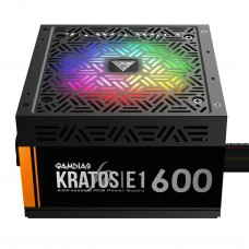 Gamdias Kratos E1-600W RGB Power Supply