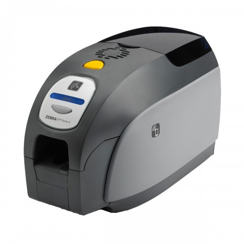 Zebra ZXP Series 3 Single Sided ID Card Printer Without Ribbon & Card