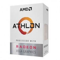 AMD Athlon PRO 300GE AM4 Socket Desktop Processor with Radeon Vega 3 Graphics
