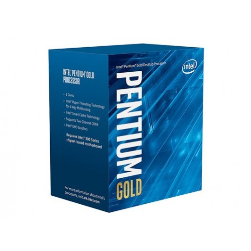 Intel Pentium Gold G5400 8th Gen Processor (6400)
