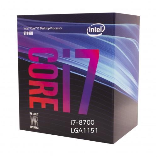 Intel 8th Generation Core i7-8700 Processor (No single )