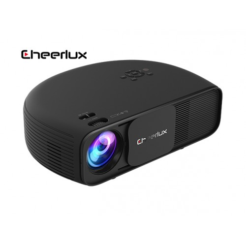 Cheerlux CL760 3200 Lumens Projector with Built-In TV Card