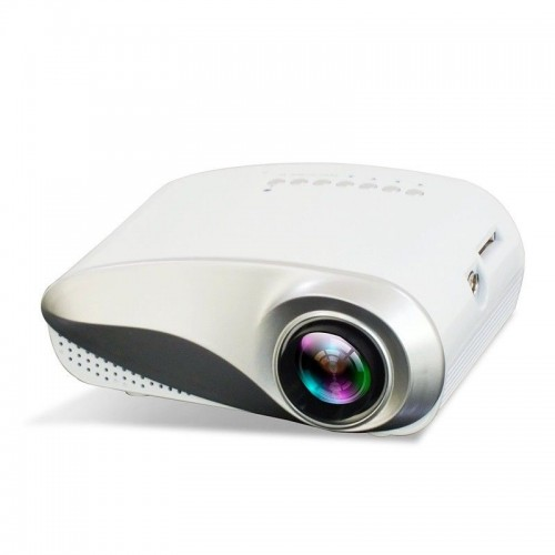 HD LED Portable Home Theater Cinema Projector