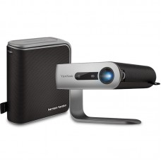 ViewSonic M1+ 250 Lumens WVGA Ultra Portable LED  Projector with Smart Stand