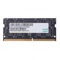 Apacer 16GB 3200MHz DDR4 SODIMM Laptop RAM