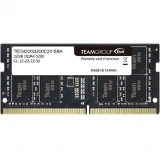 TEAM ELITE 32GB 3200MHz DDR4 LAPTOP RAM