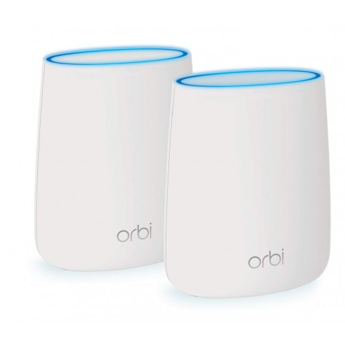 Netgear RBK20 Orbi Whole Home AC2200 Tri-band 2200mbps Mesh Router (2 Pack)