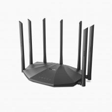 Tenda AC23 2033mbps AC2100 7 Antenna Dual Band Gigabit Wireless Router (Black)