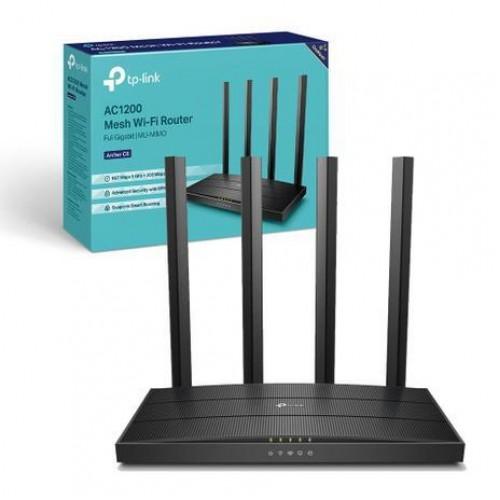 TP-Link Archer C6 (US Version-3.20) AC1200 1200mbps MU-MIMO Gigabit Router