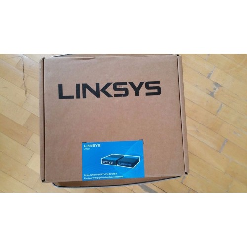 Linksys LRT224 Dual WAN Business Gigabit VPN Router