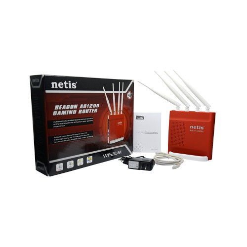 Netis WF2681 Beacon AC1200 Dual Band Gigabyte Gaming Router
