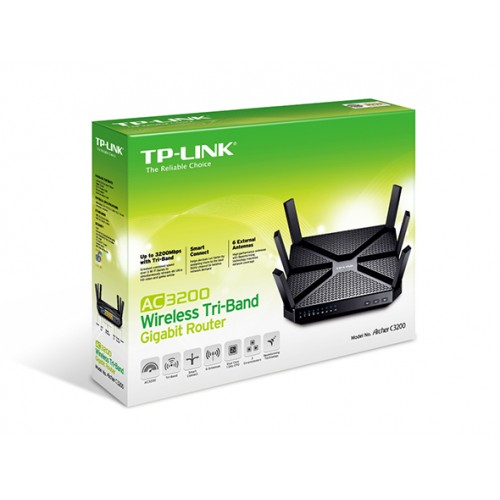 TP-Link Archer C3200 Wireless Tri-Band Gigabit Router