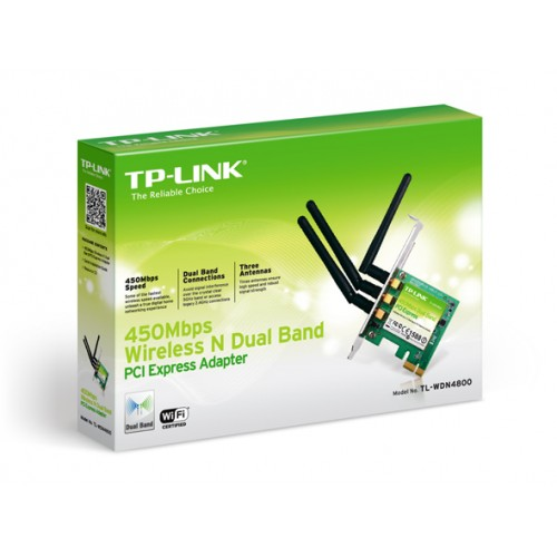 TP-Link WDN4800 N900 Wireless Dual Band PCI Express LAN Card