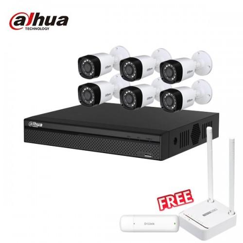 Dahua 6 unit Cc camera package