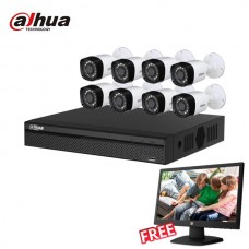 Dahua 8 unit Cc camera package