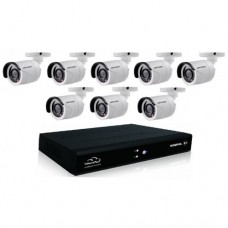 Full HD 1080p 08 Channel Jovision DVR With 08Units Full HD 1080p Hikvision Camera 08 Units Full HD 1080p Night vision CCTV security Hikvision Camera
