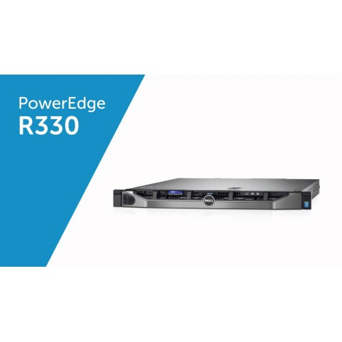 Dell PowerEdge R330 II 3.7GHz 2TB 4-Core Rack Server