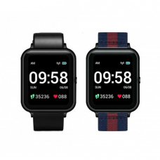 Lenovo S2 Dual Strap Smart Watch Black