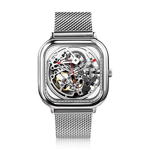 Xiaomi CIGA Design Square Shape Automatic Mechanical Smart Watch Silver