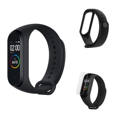 Xiaomi Mi Band 4 XMSH07HM Touch Bluetooth Smart Watch Black (Chinese Version)