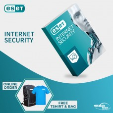 ESET Internet Security One User with Free T-Shirt and Backpack