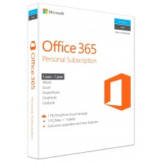 MS Office 365 Personal For 1 User (01 Year Subscription)