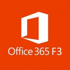 Microsoft Office 365 F3 (1 Year Subscription)