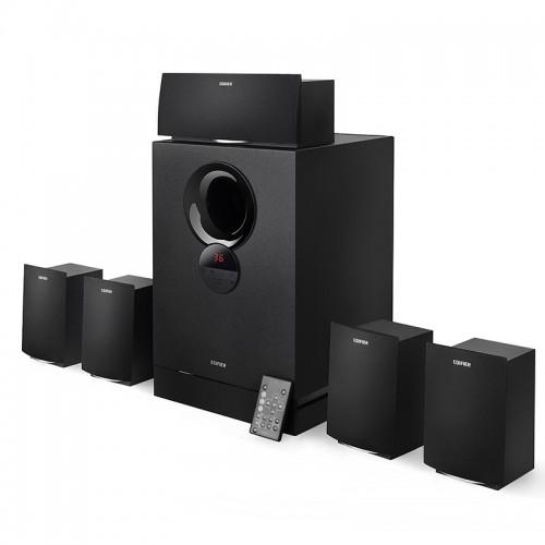 Edifier R501T III Versatile Speaker (5:1) With Remote,Memory Slot,USB (93W)